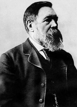 Portrait von Friedrich Engels