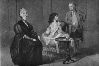 Familienbild von Sophie von La Roche