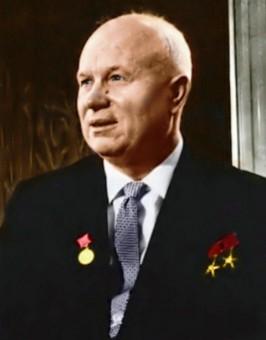 Portraitfoto von Nikita Chruschtschow