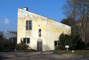 Jeanne' d'Arcs weißes, mittelalterliches Geburtshaus in Domrémy