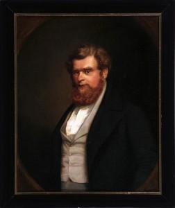 Portrait von Robert Blum gemalt von August Hunger