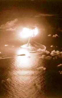 Bild eines Atomtests