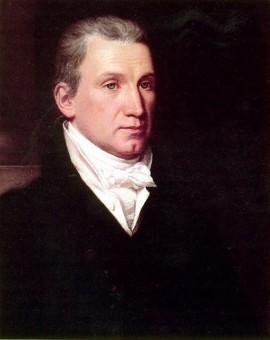 Portrait von James Monroe