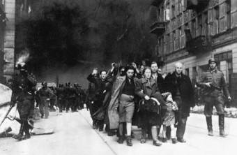 Bild des Aufstands im Warschauer Ghetto: Die SS räumt das Ghetto