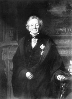 Portraitfoto von Leopold von Ranke 1868
