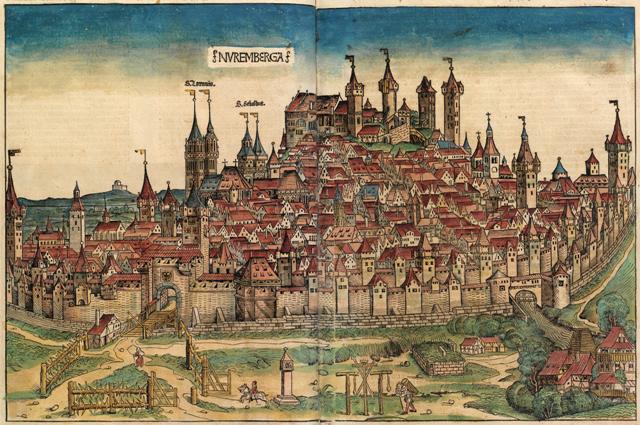 Nuernberg-im-Mittelalter