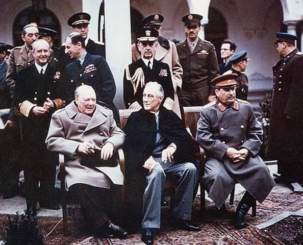 Yalta-Konferenz-Moderne