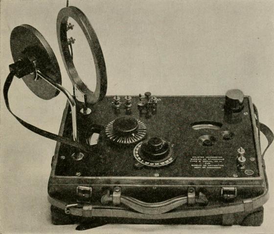 Foto von altem Radio, das benutzt wird um Geschichte zu lernen
