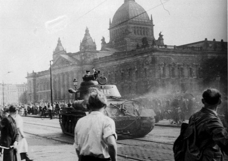 DDR Volksaufstand in Leipzig, um den 17. Juni 1953
