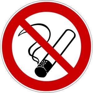 Tabakverbotszeichen