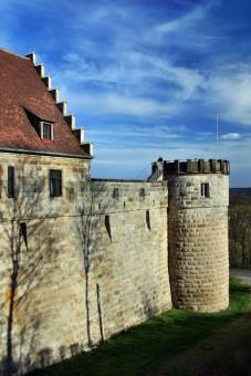Die Babenburg in Bamberg - Schauplatz der Babenberger Fehde