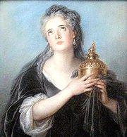 Neuzeitliches Portrait von Caesars Frau Cornelia