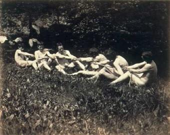 nackte-studenten-tauziehen-Thomas-Eakins 1883