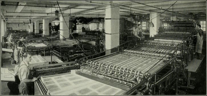 Arbeiter-Druckindustrie