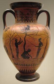 Attische-Amphora-Sklaven