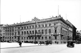 Das Reichsfinanzministerium in Berlin im Jahre 1930