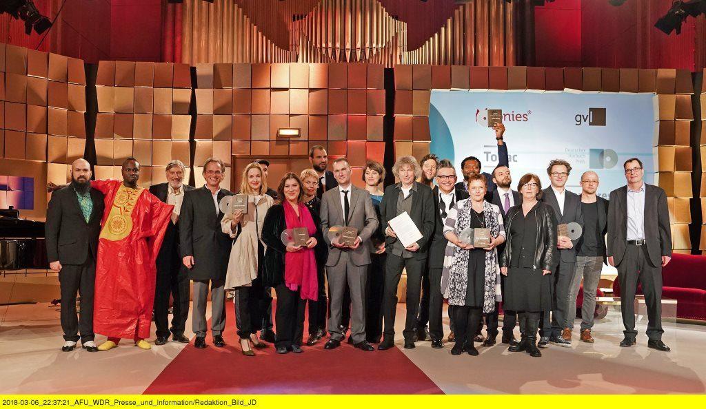 Die Gewinner des deutschen Hörbuchpreis 2018